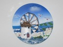 Magnet moulin de Cr�te - Merci Fanfan !