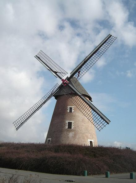 Moulin de la tourelle ou moulin hacart achicourt - Moulin de la borderie ...
