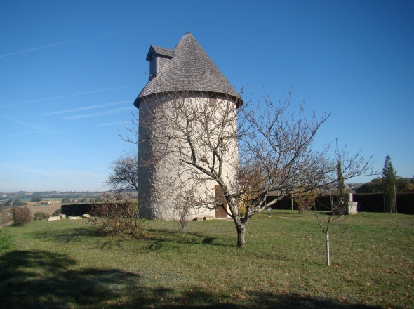 Ancien moulin à Béraut