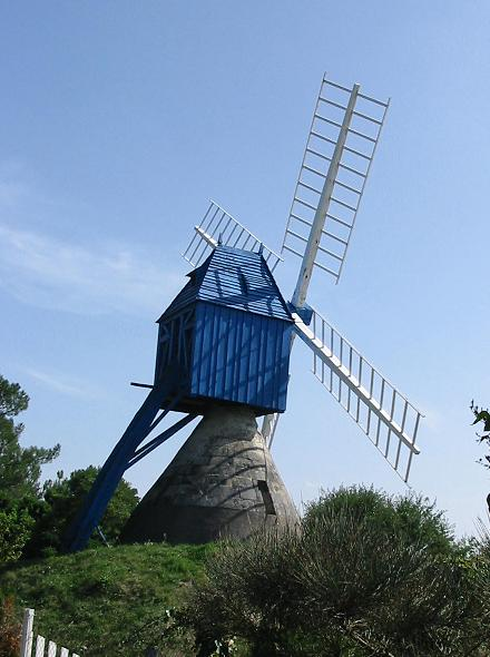 Moulin bleu - Bourgueil