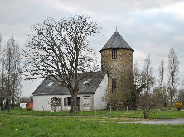 Moulin de la Haute Morinais - vue plus lointaine