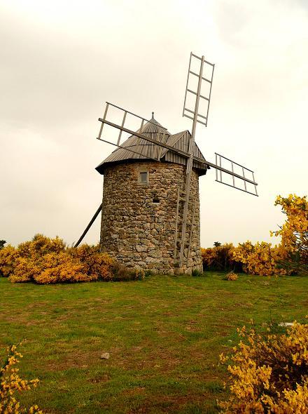 Moulins du plateau d 39 ally - Moulin de la borderie ...