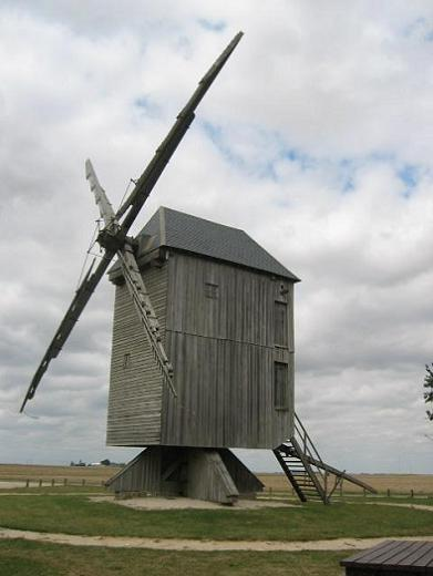 Le site des moulins vent en france - Moulin de la borderie ...